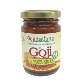Confettura bio di Goji italiano e zucca gialla 100g