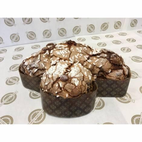 Colomba mandorle e cioccolato senza glutine - 800 g