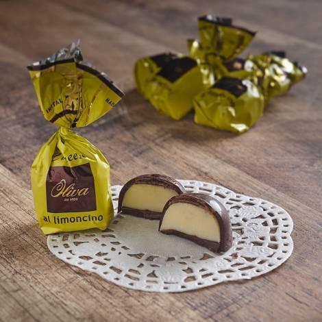 """Cuneesi"" Pralines with Limoncino Liqueur Cream - 1000g"