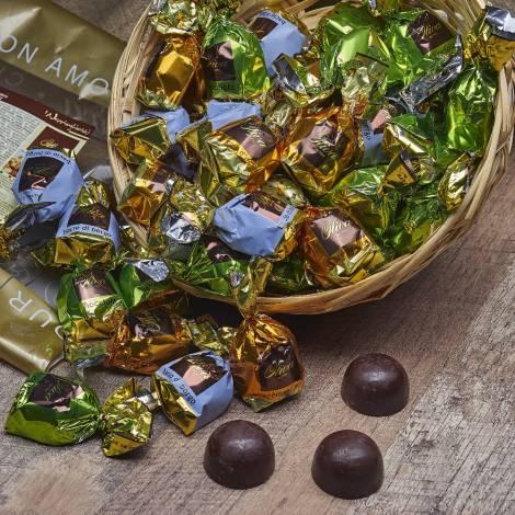 Assorted Hazelnut Pralines - Chocolates - Gr 1000
