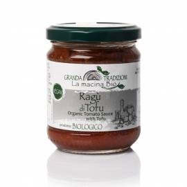 Organic tomato sauce with tofu 180 g