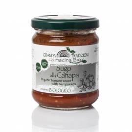 Organic tomato sauce with hempseeds 180 g