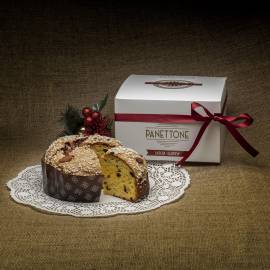 """Panettone"" with almonds and candied fruits - Gluten free - 400 g"