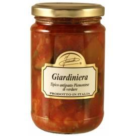 Giardiniera Antipasto piemontese - Misto di verdure con pomodoro 290 g